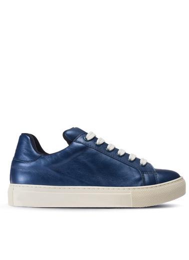 Deery Hakiki Deri Sneakers Mavi